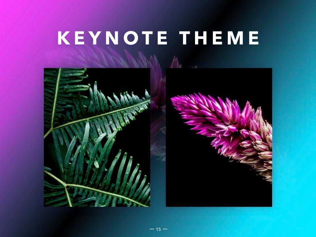 Vivid Keynote Presentation Theme, Slide 16, 04974, Presentation Templates — PoweredTemplate.com