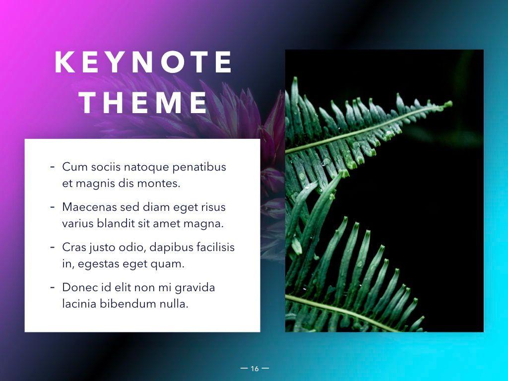 Vivid Keynote Presentation Theme, Slide 17, 04974, Presentation Templates — PoweredTemplate.com