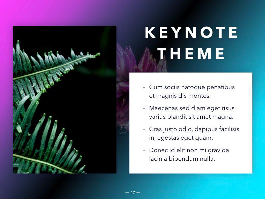 Vivid Keynote Presentation Theme, Slide 18, 04974, Presentation Templates — PoweredTemplate.com