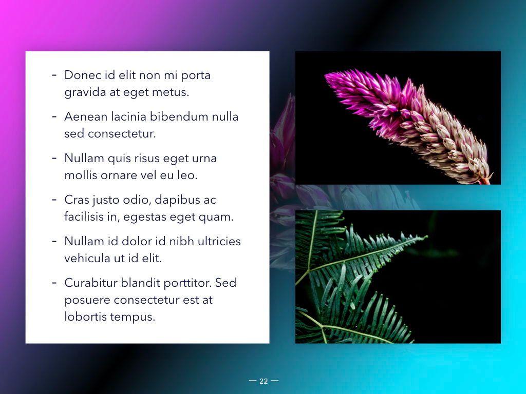 Vivid Keynote Presentation Theme, Slide 23, 04974, Presentation Templates — PoweredTemplate.com