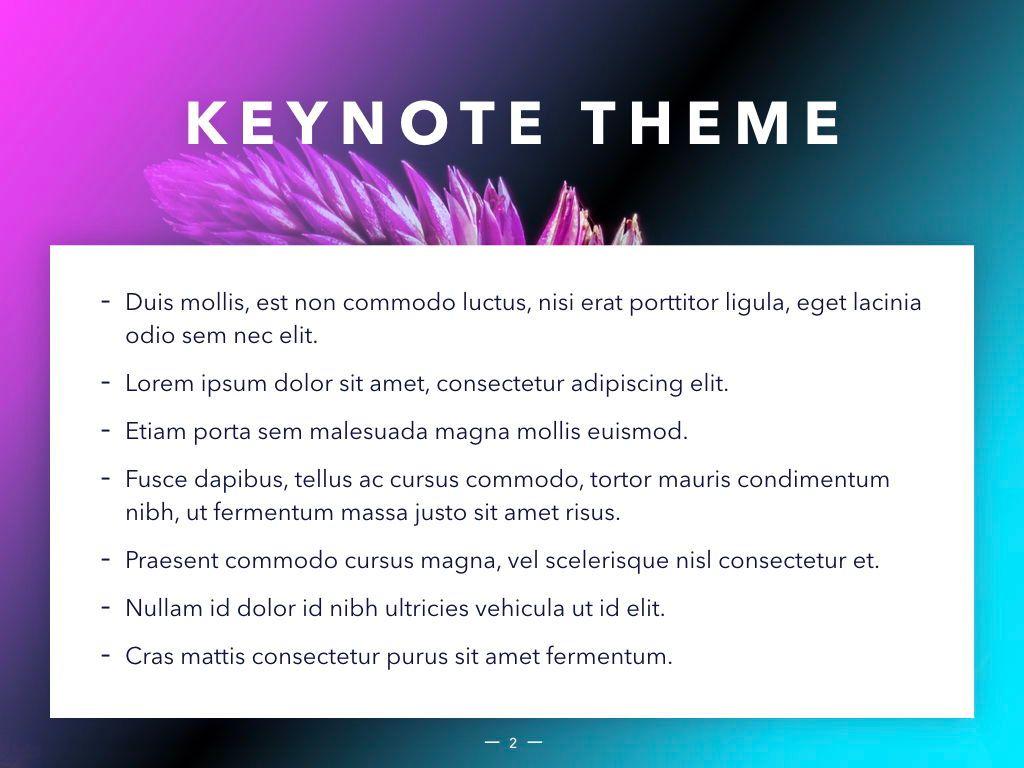Vivid Keynote Presentation Theme, Slide 3, 04974, Presentation Templates — PoweredTemplate.com