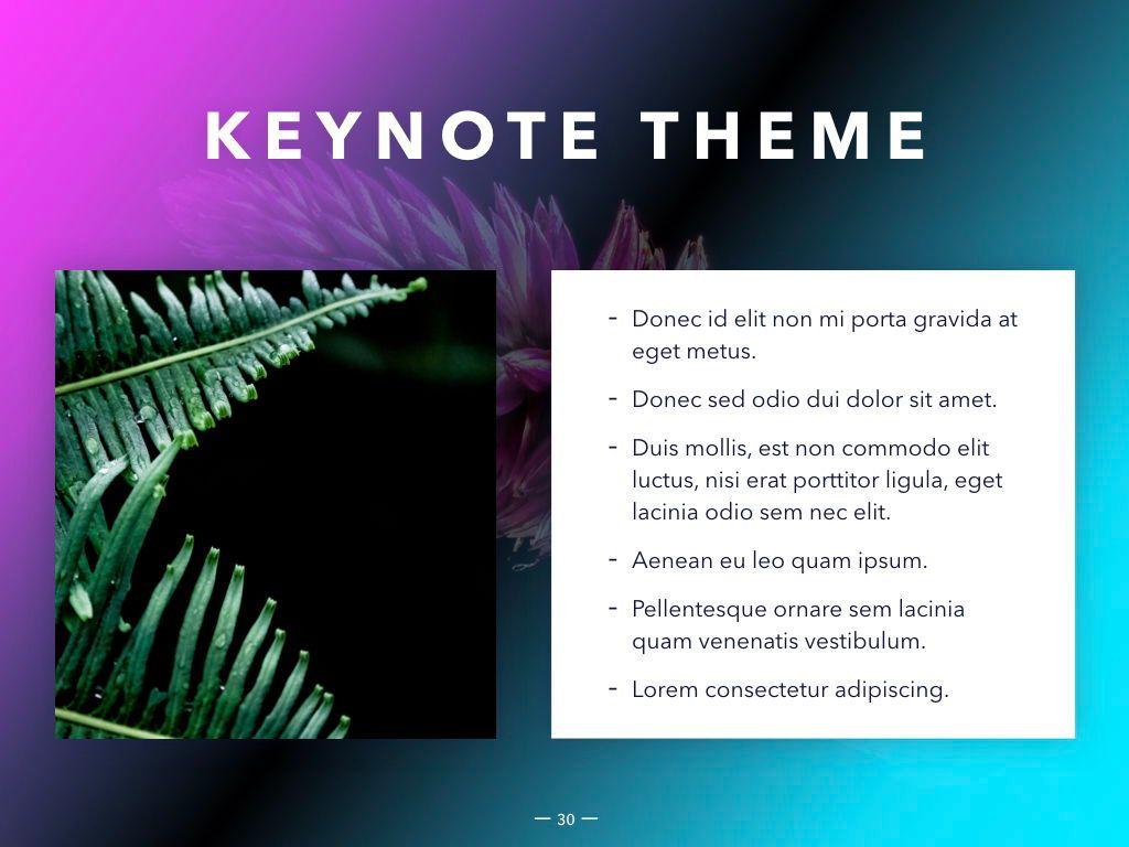 Vivid Keynote Presentation Theme, Slide 31, 04974, Presentation Templates — PoweredTemplate.com