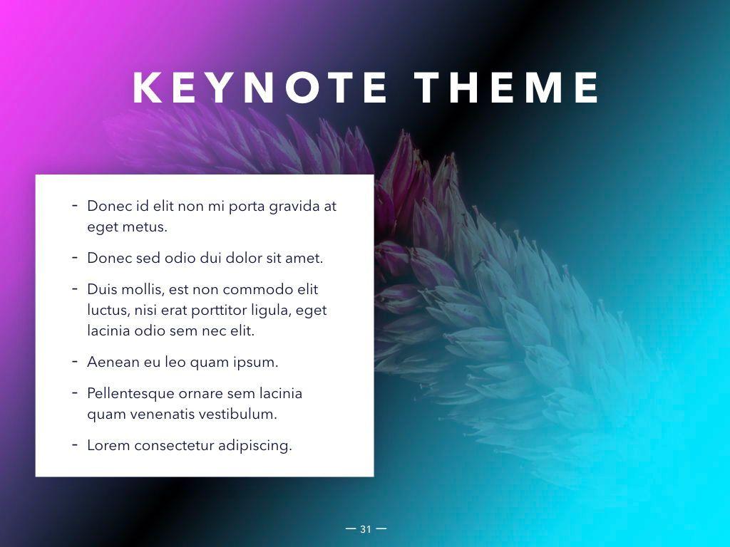 Vivid Keynote Presentation Theme, Slide 32, 04974, Presentation Templates — PoweredTemplate.com