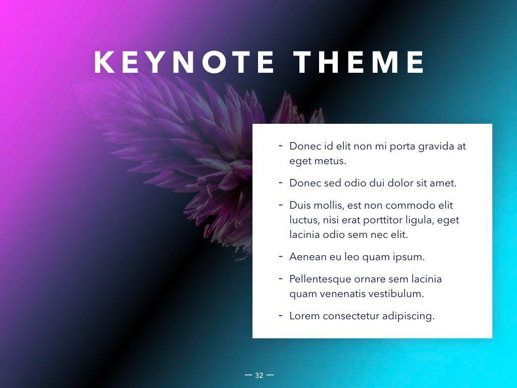 Vivid Keynote Presentation Theme, Slide 33, 04974, Presentation Templates — PoweredTemplate.com