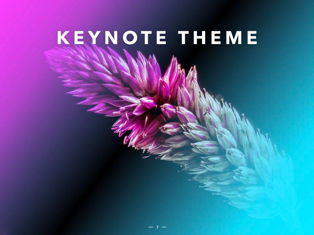 Vivid Keynote Presentation Theme, Slide 8, 04974, Presentation Templates — PoweredTemplate.com