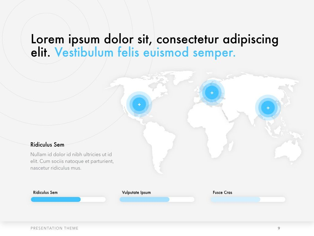 Tech Evangelist Keynote Template, Slide 10, 04975, Presentation Templates — PoweredTemplate.com