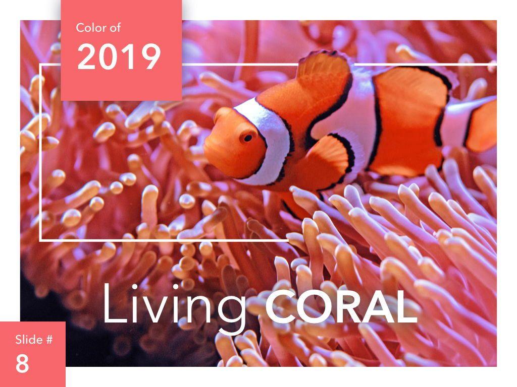 Living Coral Keynote Theme, Slide 9, 04976, Presentation Templates — PoweredTemplate.com