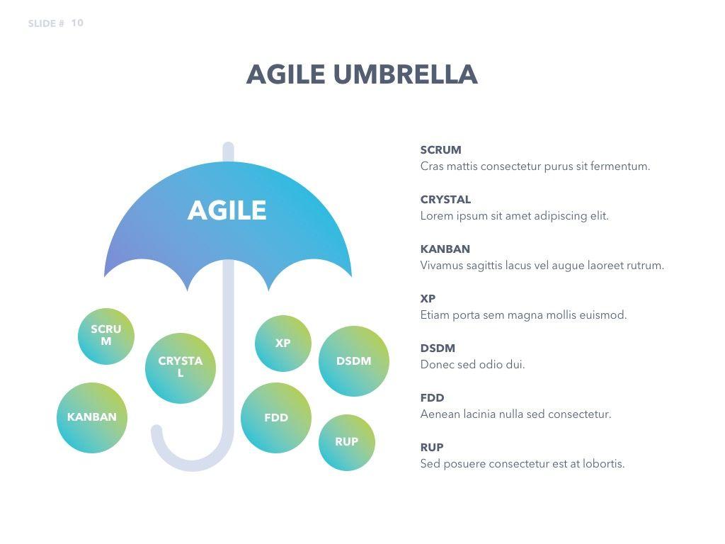 Agile Development PowerPoint Template, Slide 11, 04979, Business Models — PoweredTemplate.com