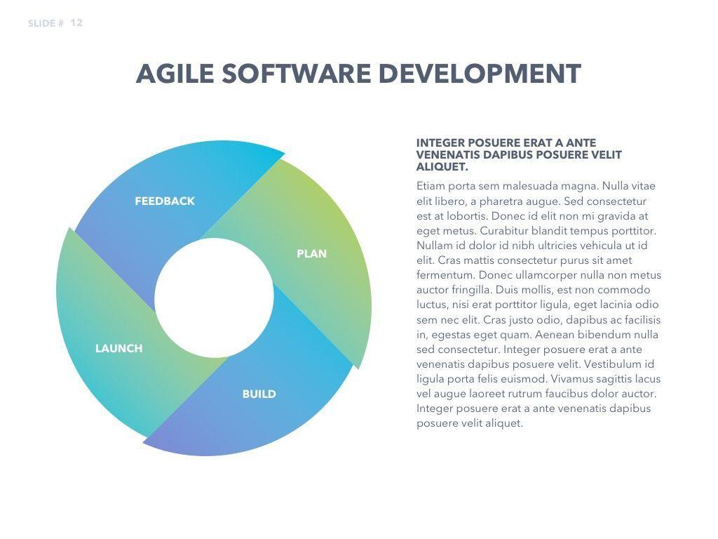 Agile Development PowerPoint Template, Slide 13, 04979, Business Models — PoweredTemplate.com