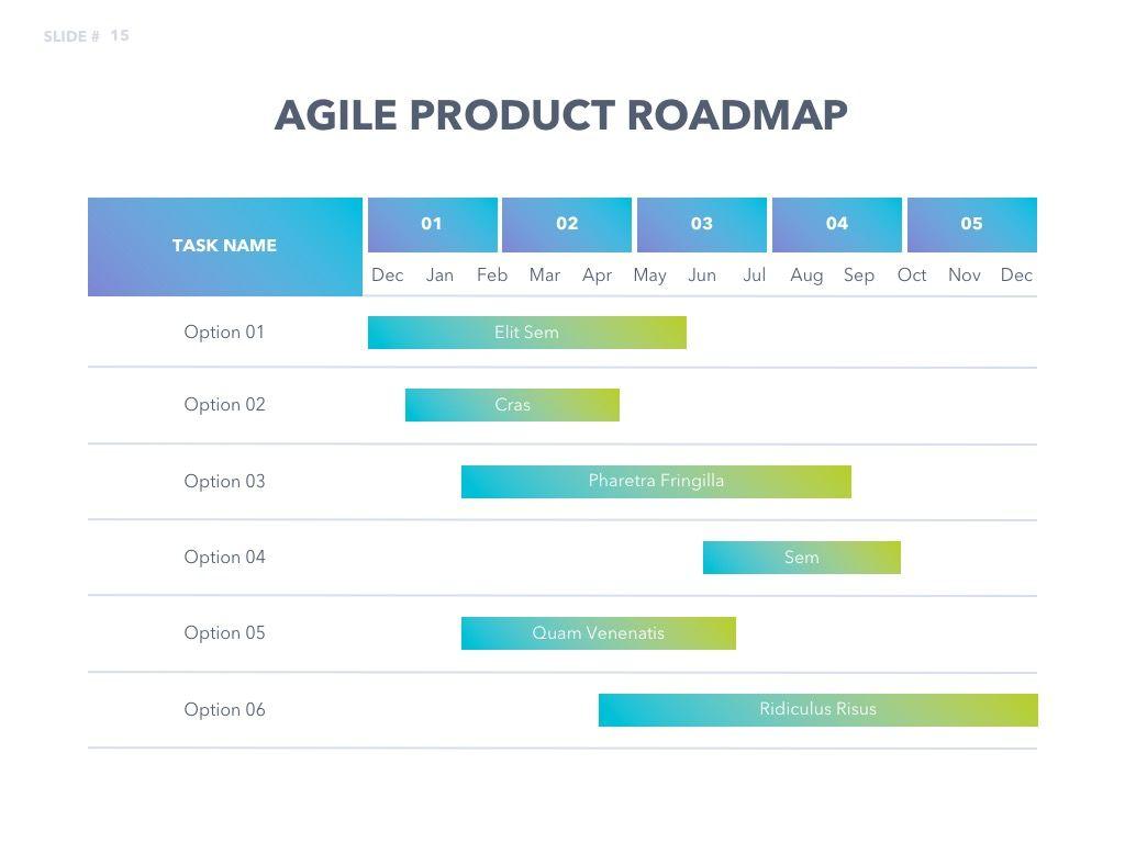 Agile Development PowerPoint Template, Slide 16, 04979, Business Models — PoweredTemplate.com