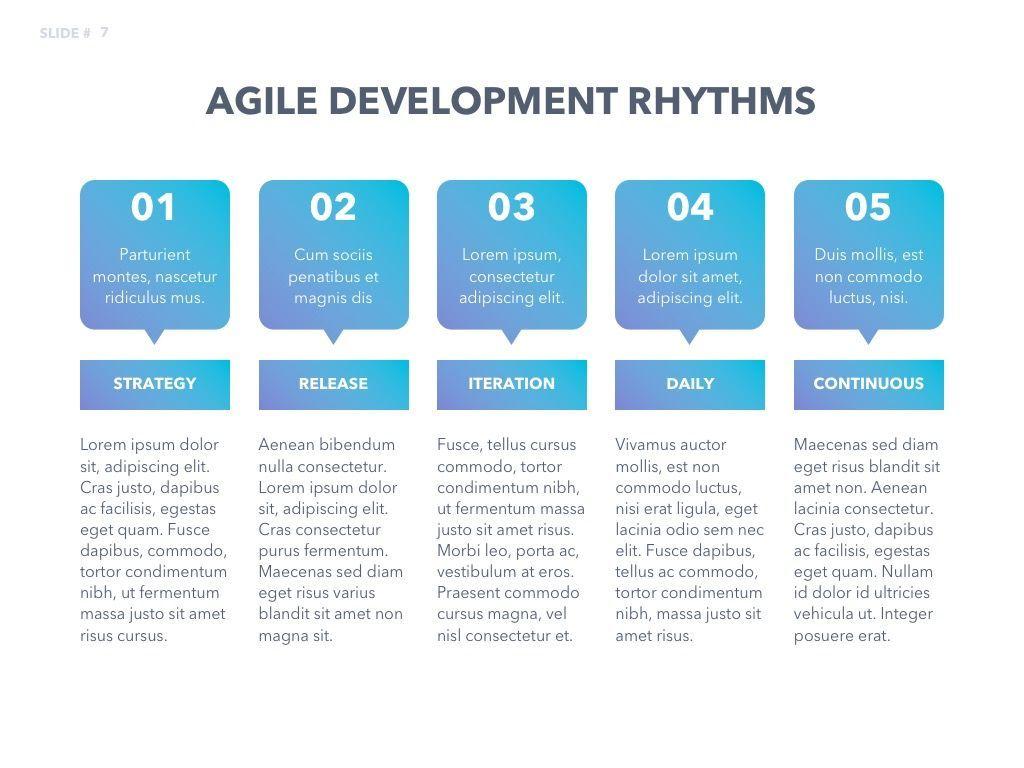 Agile Development PowerPoint Template, Slide 8, 04979, Business Models — PoweredTemplate.com