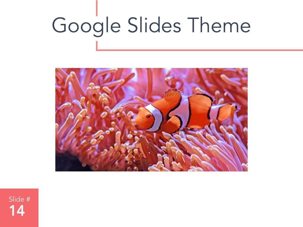 Living Coral Google Slides Theme, Slide 15, 04980, Presentation Templates — PoweredTemplate.com