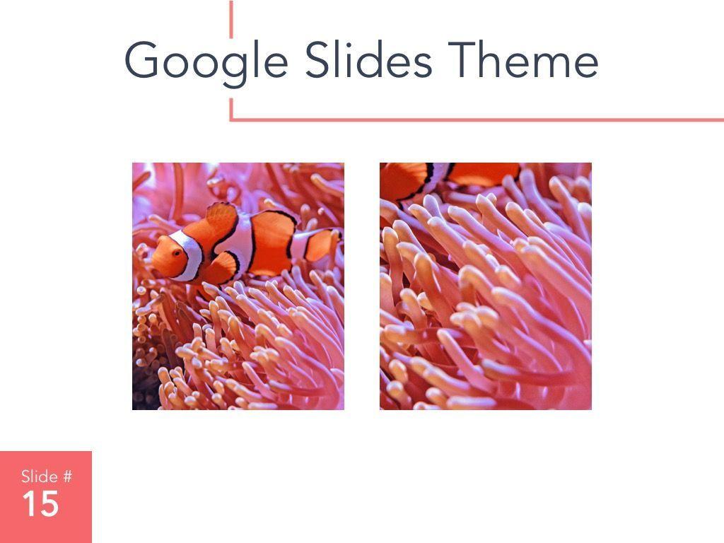 Living Coral Google Slides Theme, Slide 16, 04980, Presentation Templates — PoweredTemplate.com