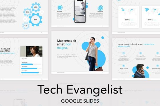 Presentation Templates: Tech Evangelist Google Slides Theme #04981