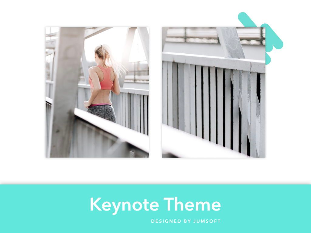Running Forward Keynote Theme, Slide 14, 04982, Presentation Templates — PoweredTemplate.com