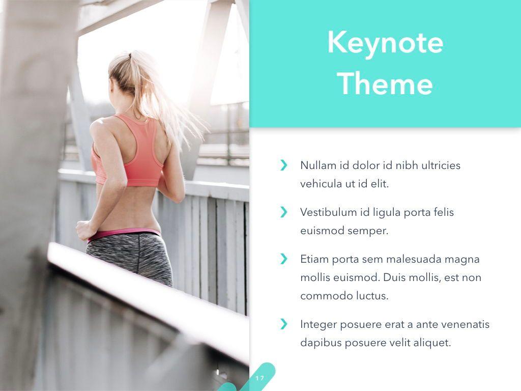 Running Forward Keynote Theme, Slide 18, 04982, Presentation Templates — PoweredTemplate.com