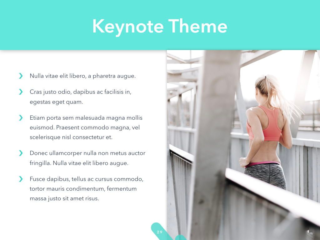 Running Forward Keynote Theme, Slide 30, 04982, Presentation Templates — PoweredTemplate.com
