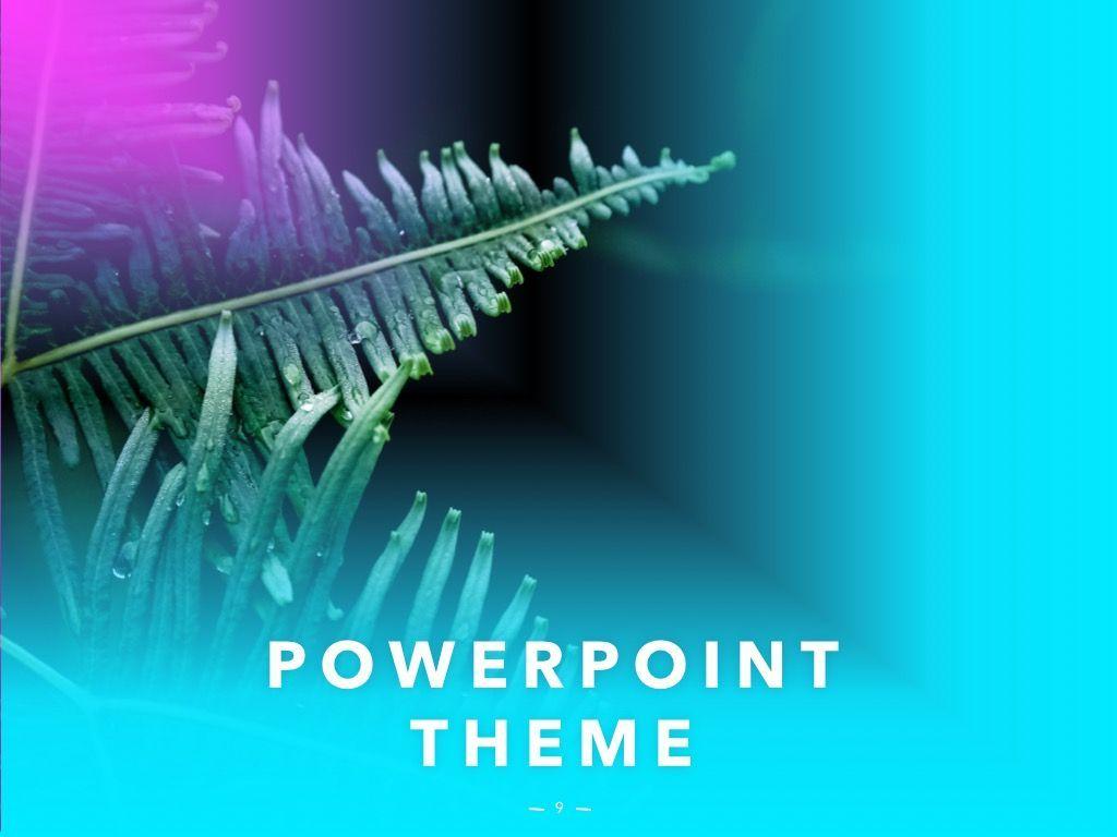 Vivid PowerPoint Theme, Slide 10, 04983, Presentation Templates — PoweredTemplate.com