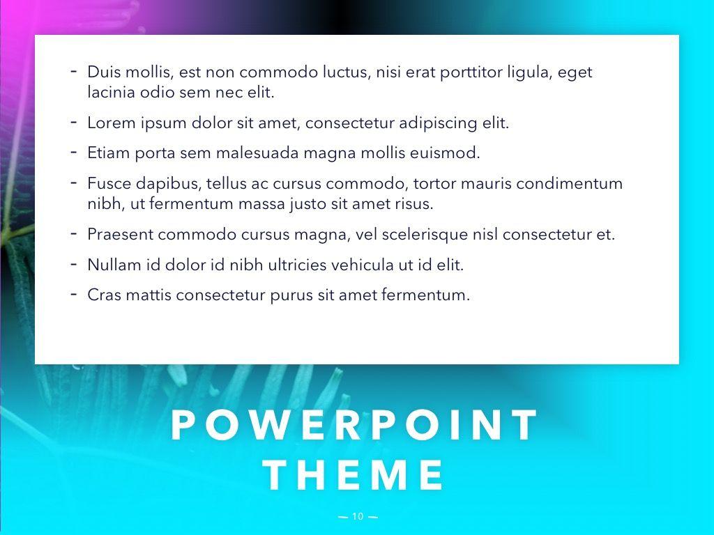 Vivid PowerPoint Theme, Slide 11, 04983, Presentation Templates — PoweredTemplate.com