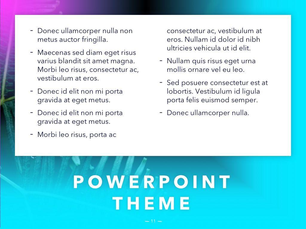Vivid PowerPoint Theme, Slide 12, 04983, Presentation Templates — PoweredTemplate.com