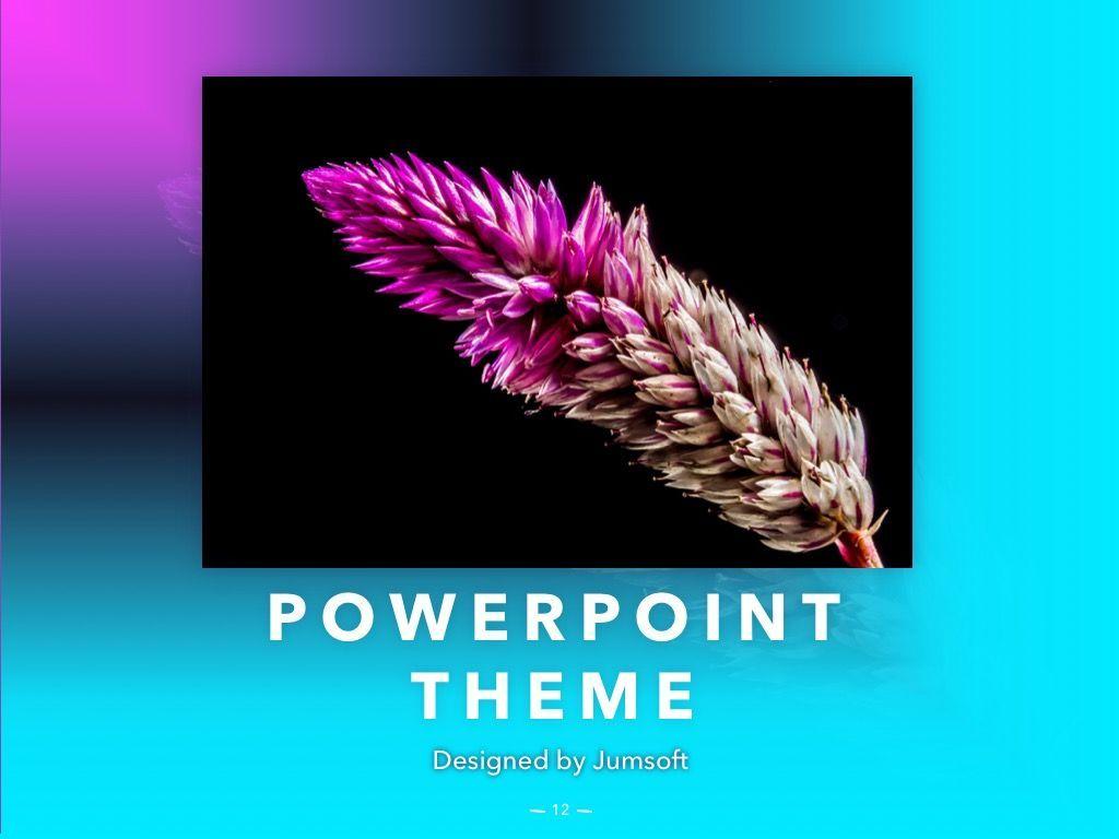 Vivid PowerPoint Theme, Slide 13, 04983, Presentation Templates — PoweredTemplate.com