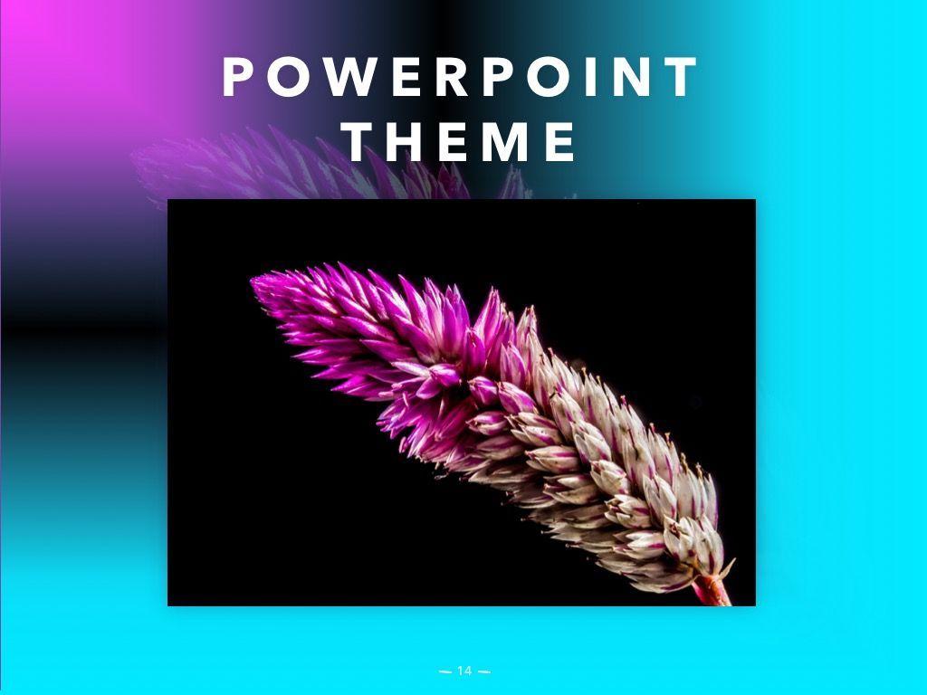 Vivid PowerPoint Theme, Slide 15, 04983, Presentation Templates — PoweredTemplate.com