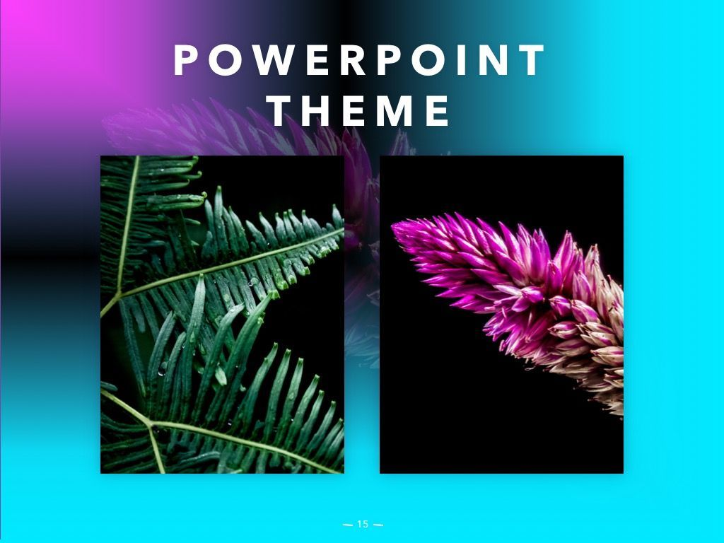 Vivid PowerPoint Theme, Slide 16, 04983, Presentation Templates — PoweredTemplate.com