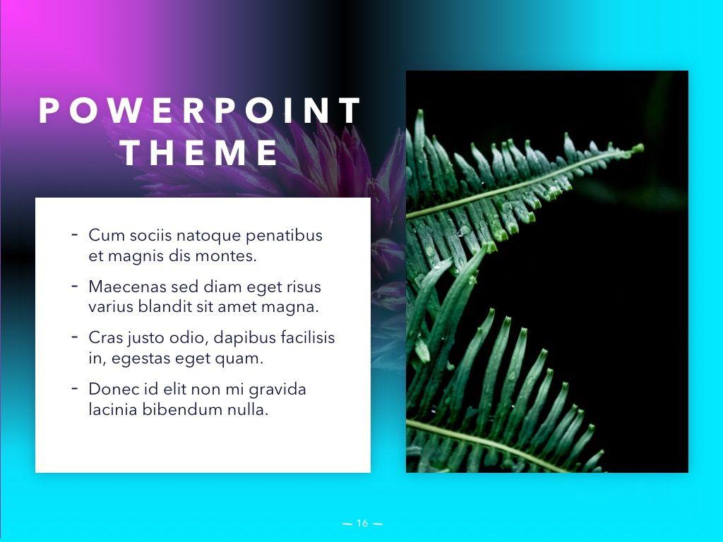 Vivid PowerPoint Theme, Slide 17, 04983, Presentation Templates — PoweredTemplate.com