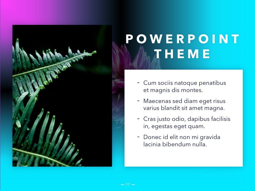 Vivid PowerPoint Theme, Slide 18, 04983, Presentation Templates — PoweredTemplate.com
