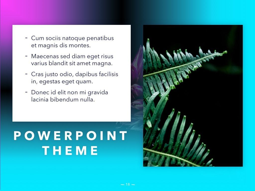 Vivid PowerPoint Theme, Slide 19, 04983, Presentation Templates — PoweredTemplate.com