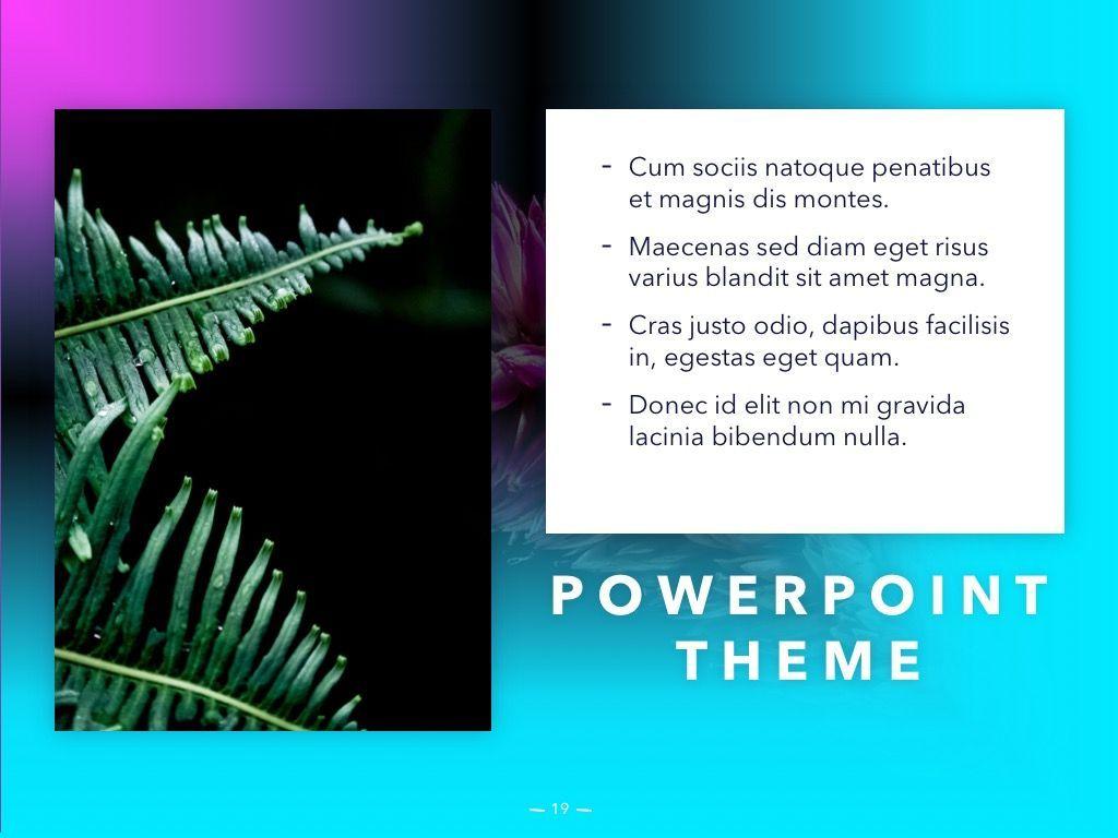 Vivid PowerPoint Theme, Slide 20, 04983, Presentation Templates — PoweredTemplate.com