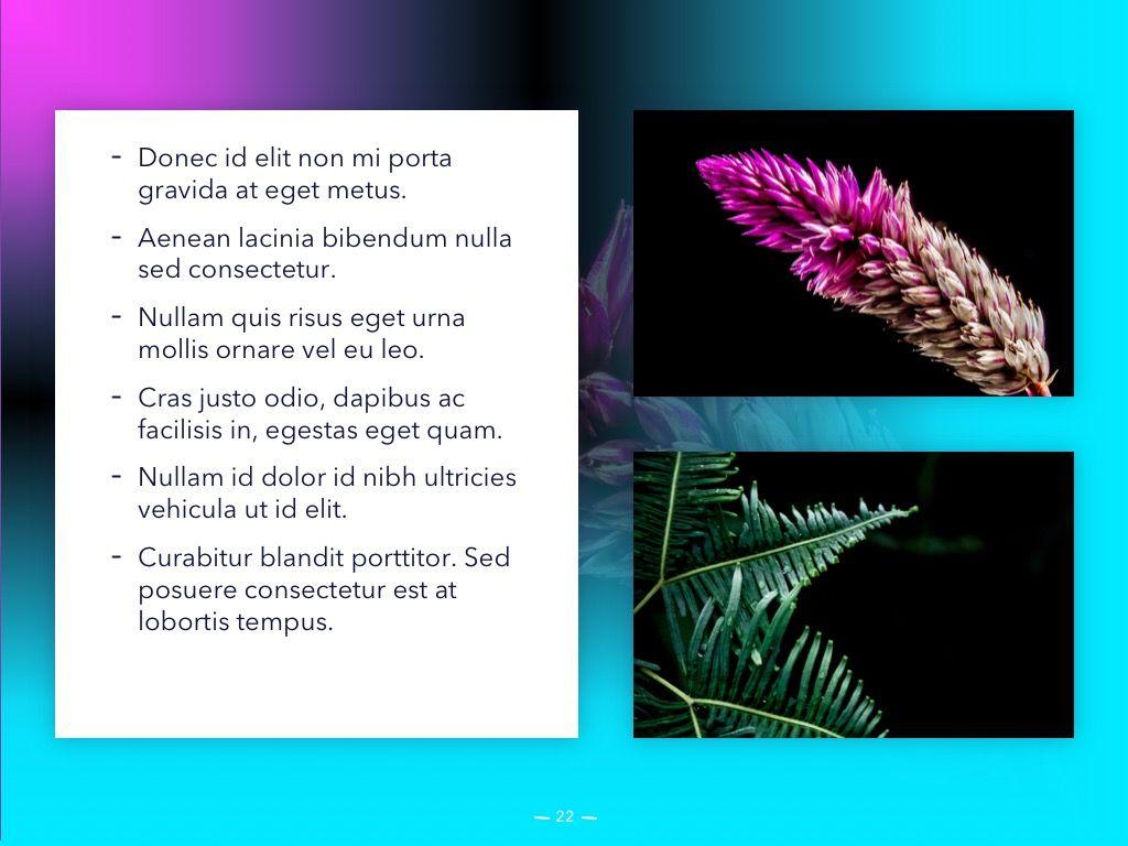 Vivid PowerPoint Theme, Slide 23, 04983, Presentation Templates — PoweredTemplate.com