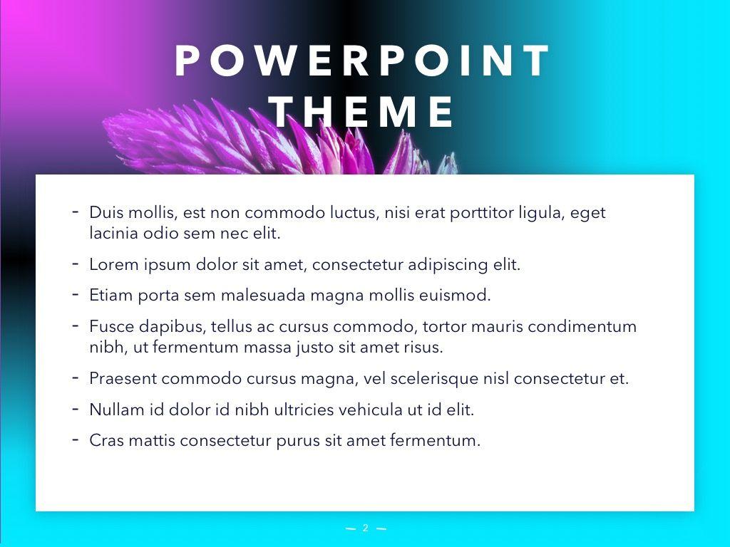 Vivid PowerPoint Theme, Slide 3, 04983, Presentation Templates — PoweredTemplate.com
