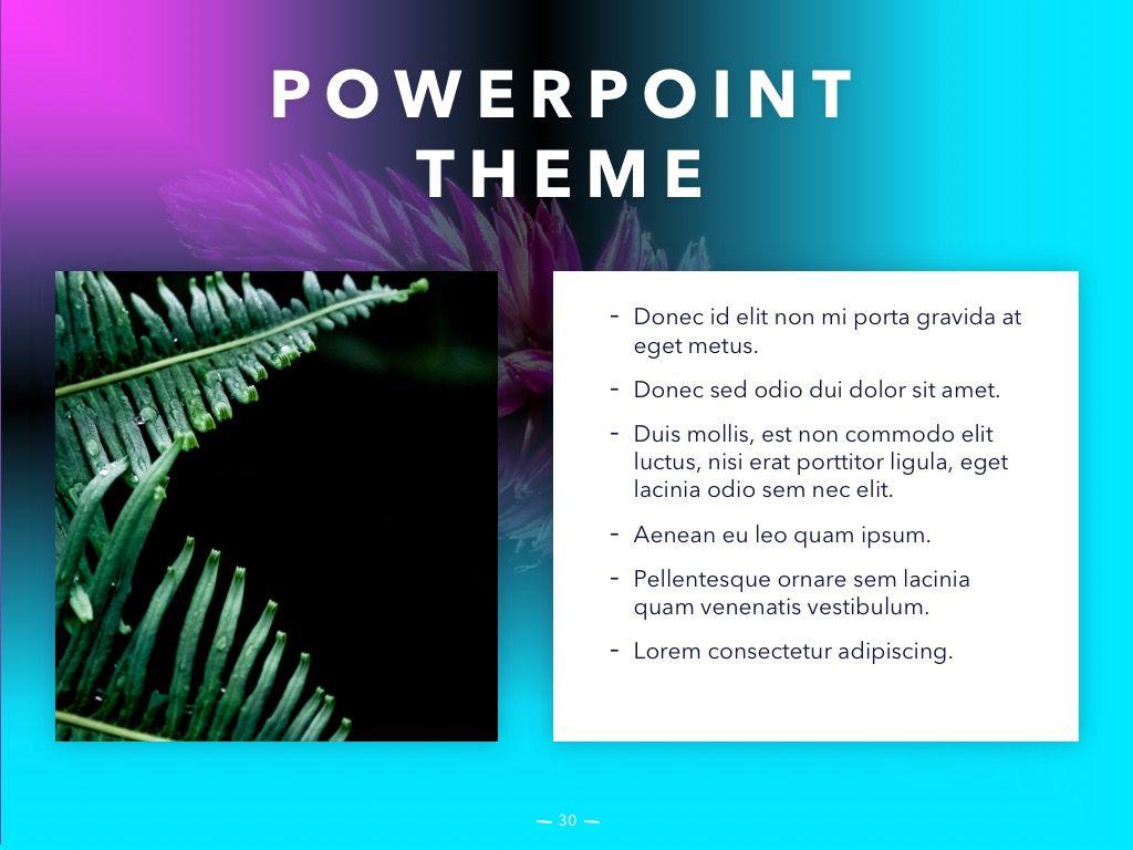 Vivid PowerPoint Theme, Slide 31, 04983, Presentation Templates — PoweredTemplate.com