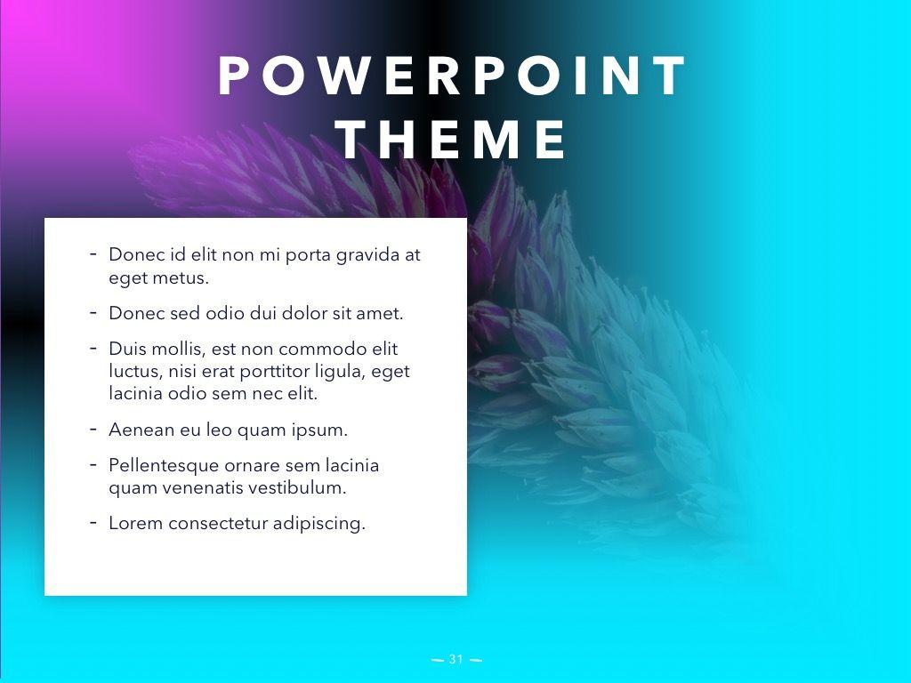 Vivid PowerPoint Theme, Slide 32, 04983, Presentation Templates — PoweredTemplate.com
