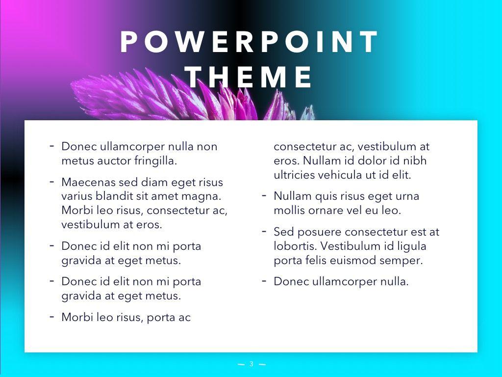 Vivid PowerPoint Theme, Slide 4, 04983, Presentation Templates — PoweredTemplate.com