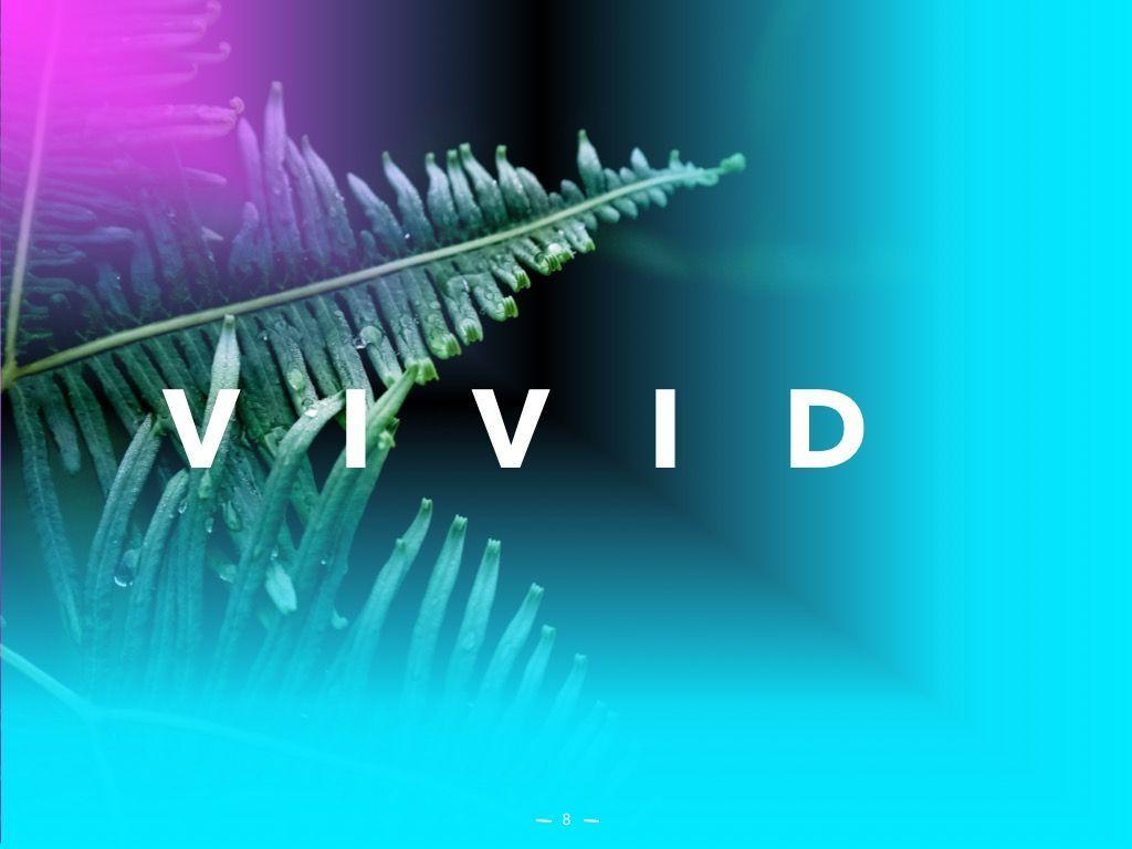 Vivid PowerPoint Theme, Slide 9, 04983, Presentation Templates — PoweredTemplate.com