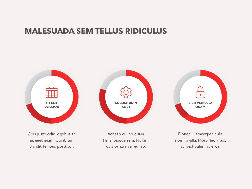 Red Line PowerPoint Template, Slide 17, 04984, Presentation Templates — PoweredTemplate.com