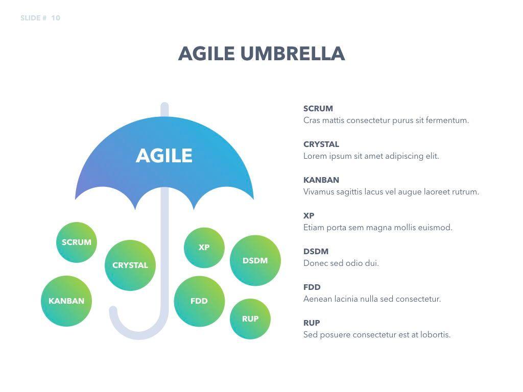 Agile Development Keynote Template, Slide 11, 04985, Business Models — PoweredTemplate.com