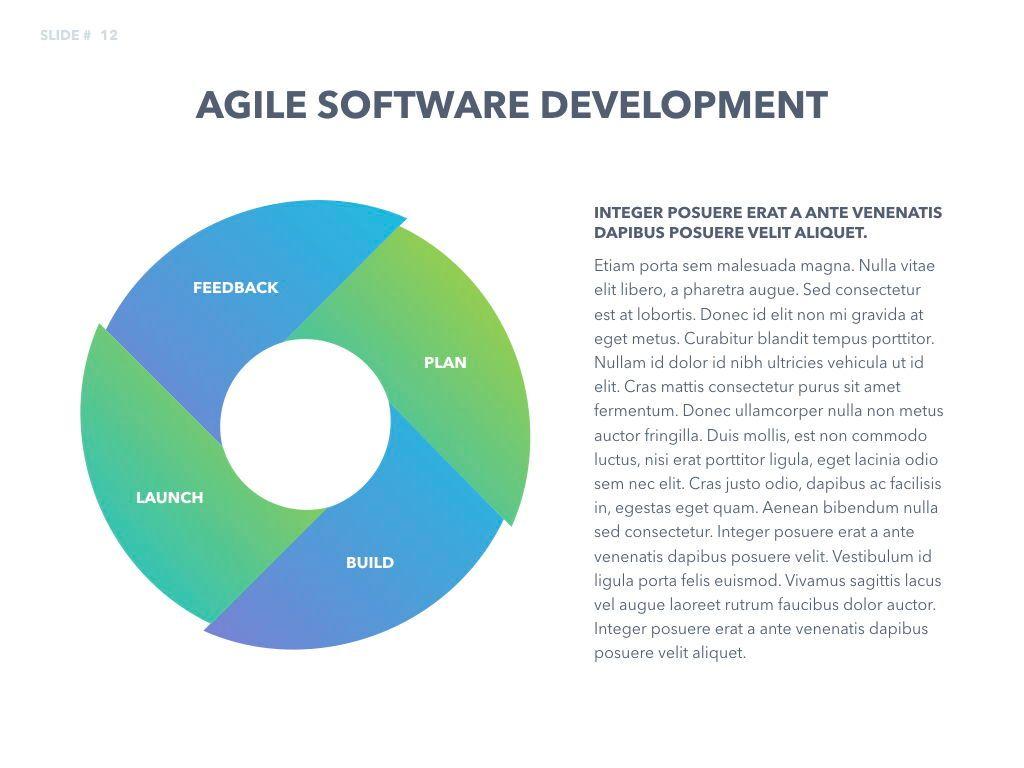 Agile Development Keynote Template, Slide 13, 04985, Business Models — PoweredTemplate.com