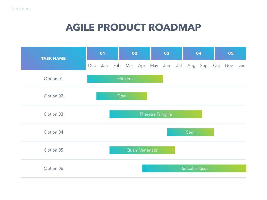 Agile Development Keynote Template, Slide 16, 04985, Business Models — PoweredTemplate.com