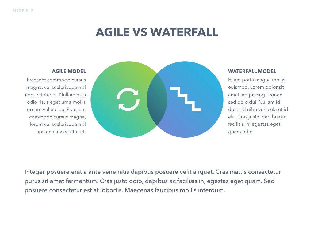 Agile Development Keynote Template, Slide 3, 04985, Business Models — PoweredTemplate.com