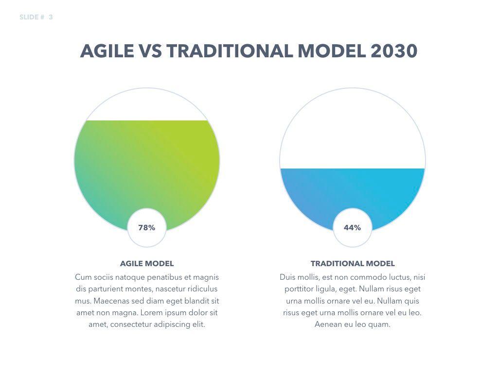 Agile Development Keynote Template, Slide 4, 04985, Business Models — PoweredTemplate.com