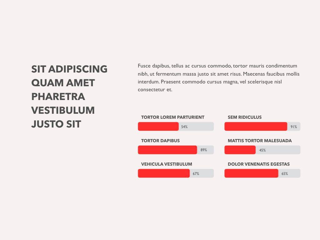 Red Line Keynote Template, Slide 16, 04987, Presentation Templates — PoweredTemplate.com