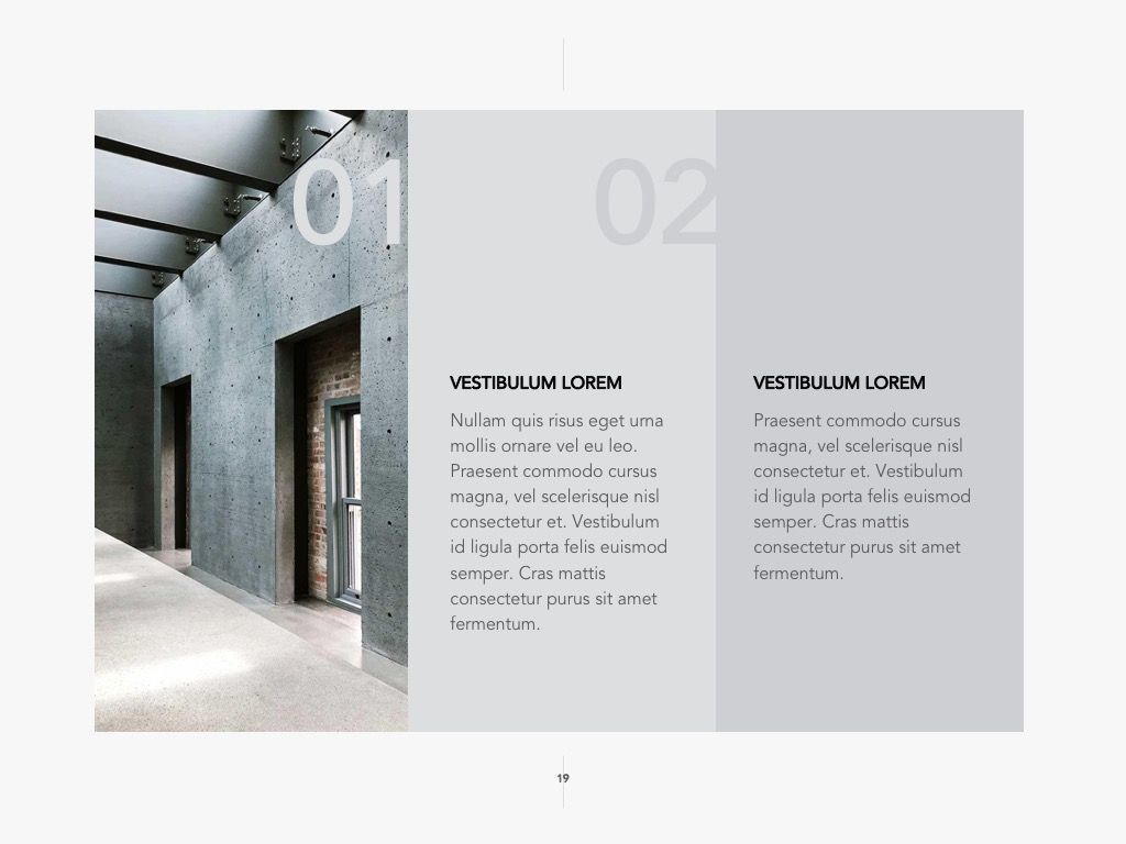 Concrete Google Slides Template, Slide 20, 04990, Presentation Templates — PoweredTemplate.com