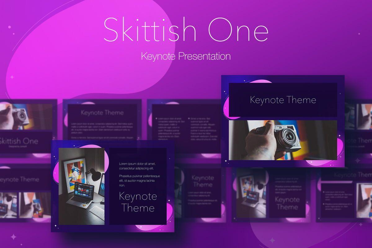 Skittish One Keynote Template, 04991, Presentation Templates — PoweredTemplate.com