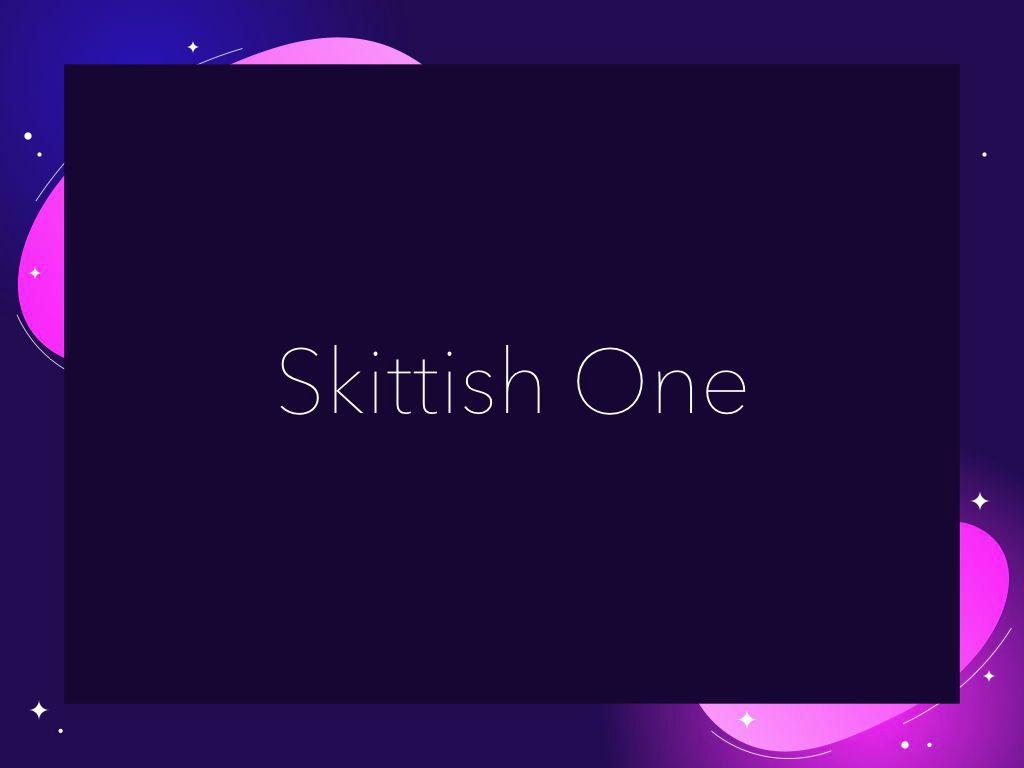 Skittish One Keynote Template, Slide 10, 04991, Presentation Templates — PoweredTemplate.com