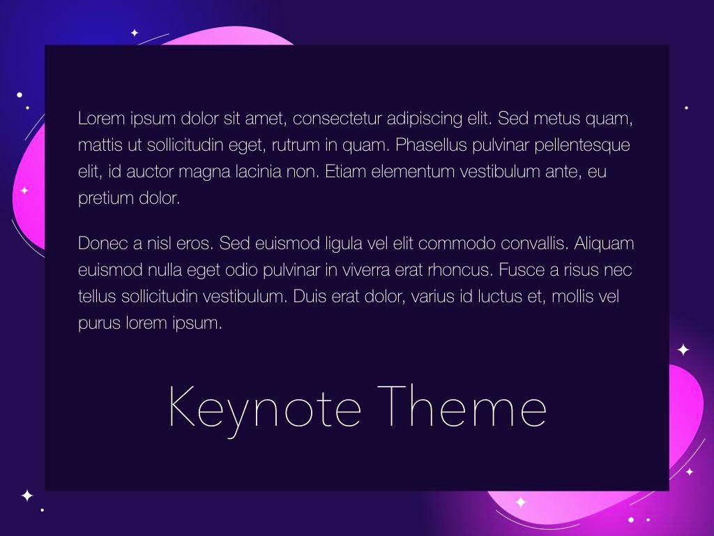Skittish One Keynote Template, Slide 12, 04991, Presentation Templates — PoweredTemplate.com