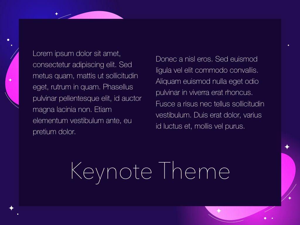 Skittish One Keynote Template, Slide 13, 04991, Presentation Templates — PoweredTemplate.com