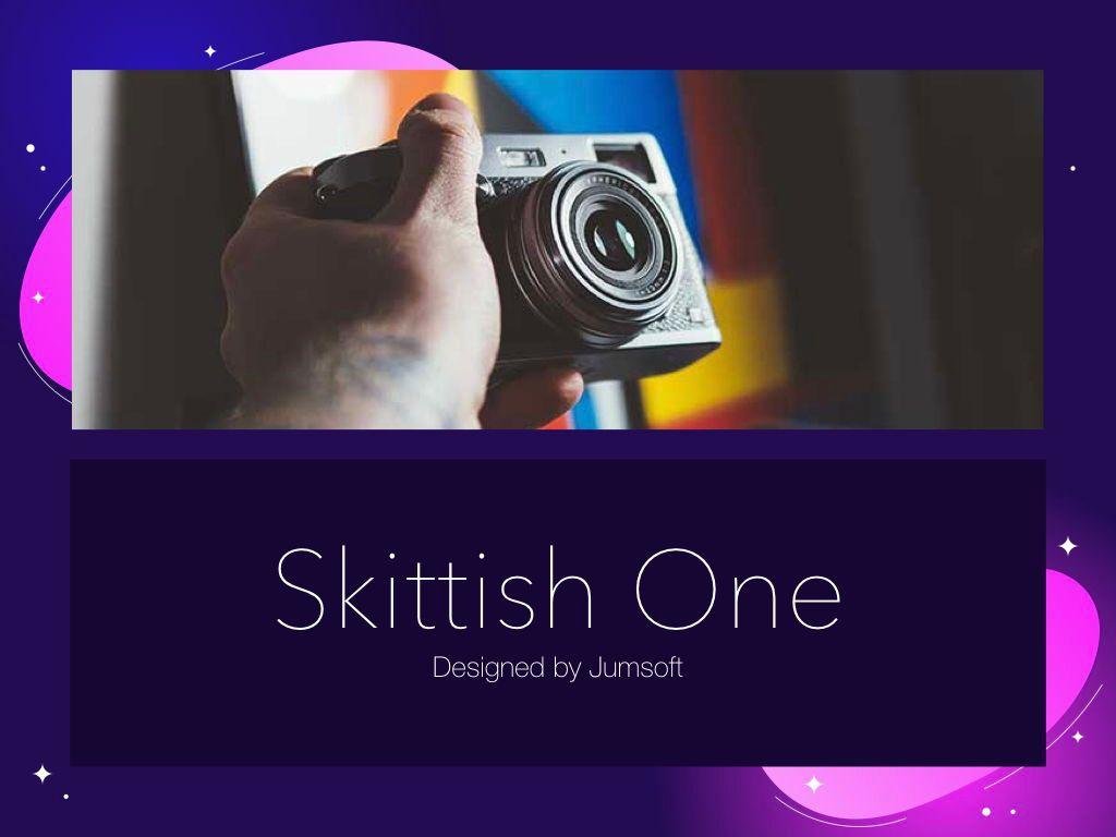 Skittish One Keynote Template, Slide 2, 04991, Presentation Templates — PoweredTemplate.com